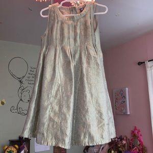 Other - Girls silver Gap dress